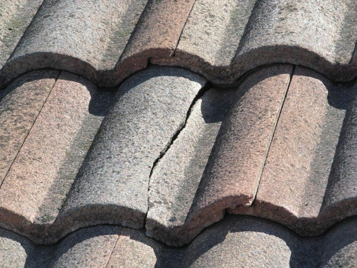 crack roofing tile repair roofing contrctor in beaumont banning